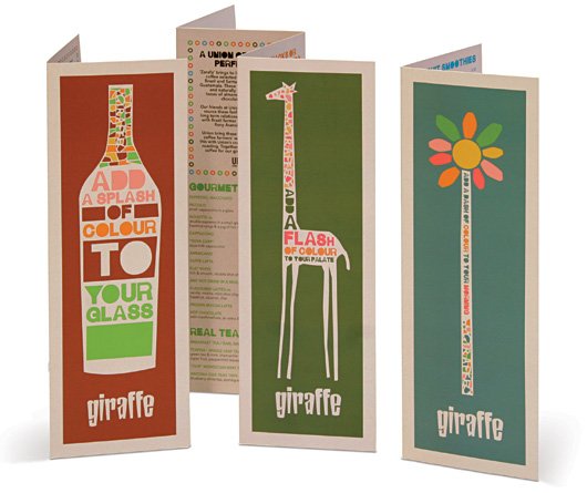 Giraffe Restaurants Latest Menus
