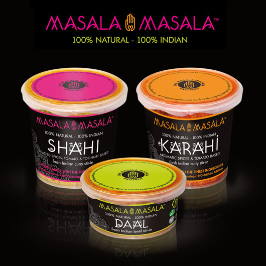 Masala Masala Logo and Packaging