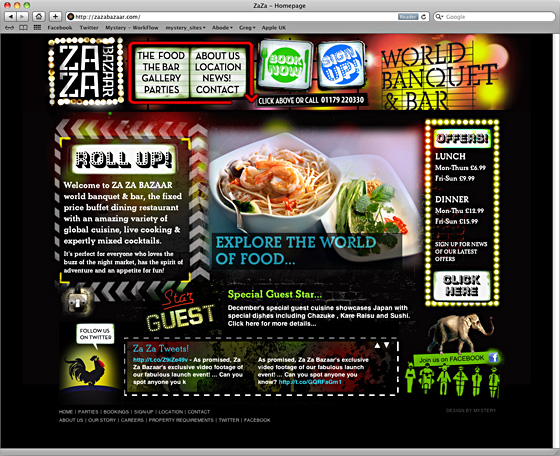 Za Za Bazaar Website